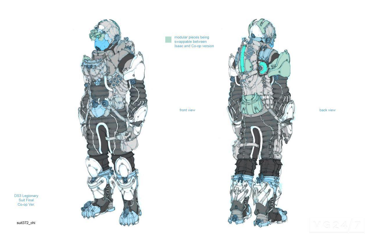 Dead Space Suit Design (page 3) - Pics about space