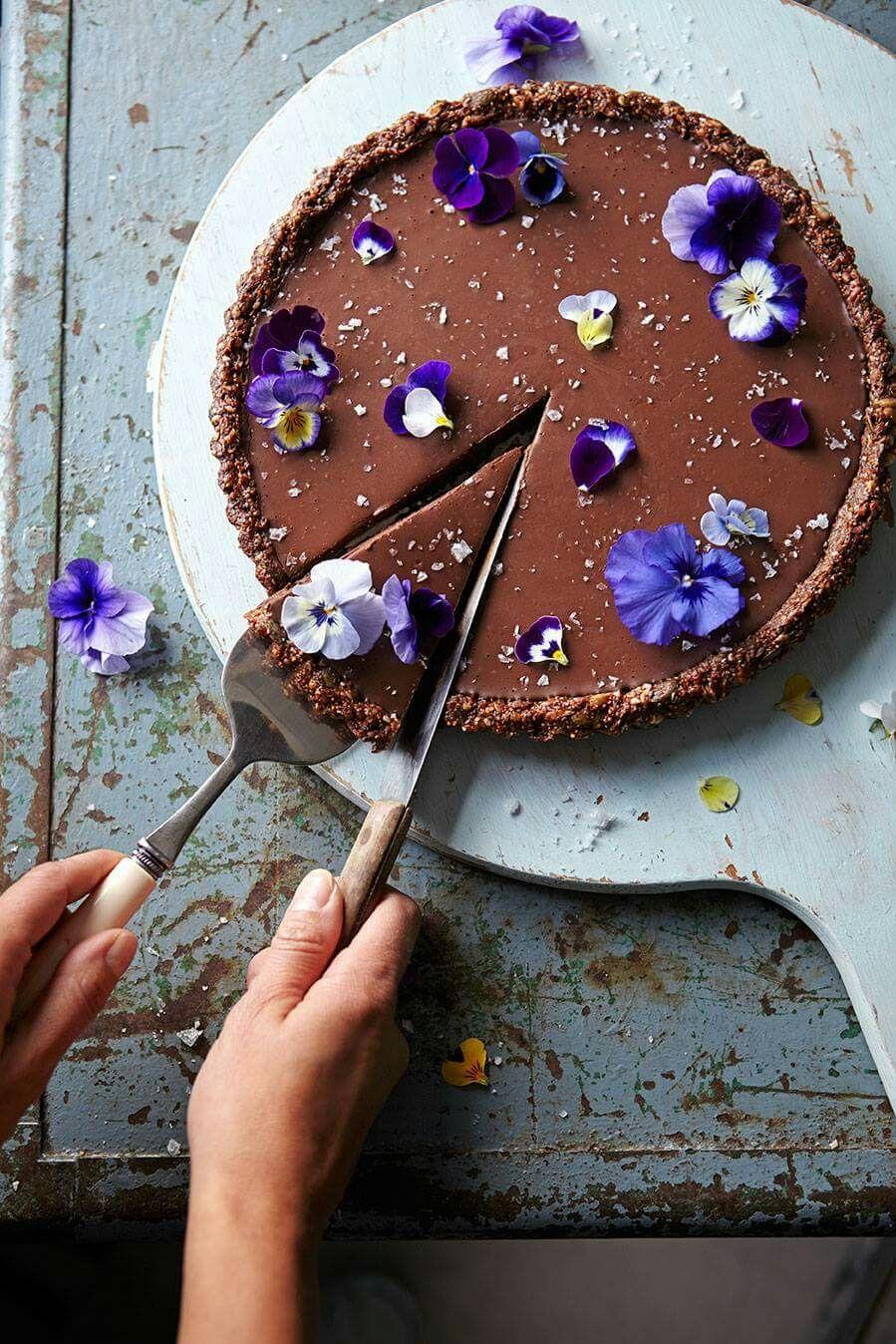 Dark chocolate orange sea salt cake A Jamie Oliver creation