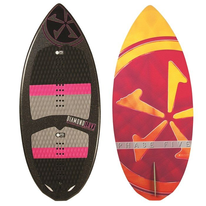 Phase Five Diamond Luv Wakesurf Board Women S 2017 Wakesurfing Wakesurf Boards Surfboard
