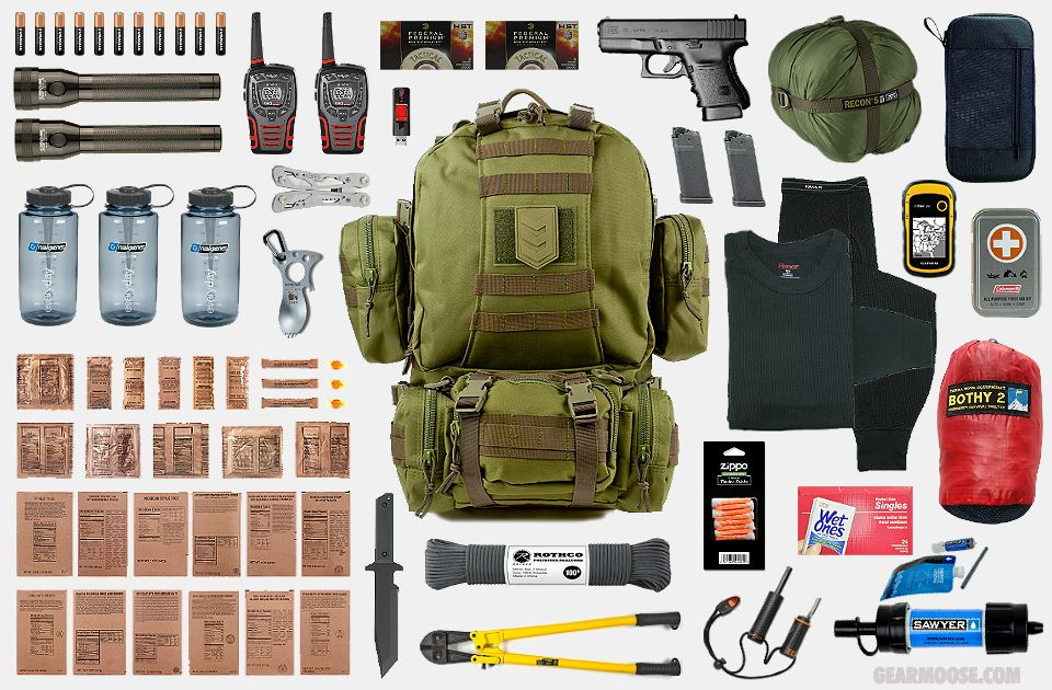 Bug Out Bag 3 With Images Survival