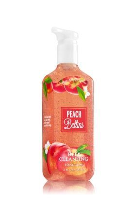 Peach Bellini Deep Cleansing Hand Soap Bath Body Works