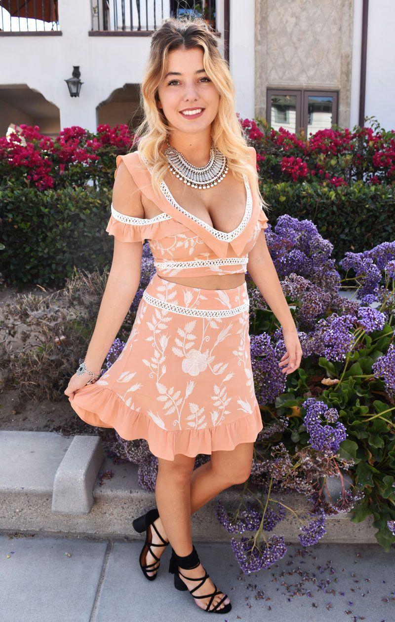 For Love And Lemons Mia Mini Skirt Stuff I Need Now Pinterest