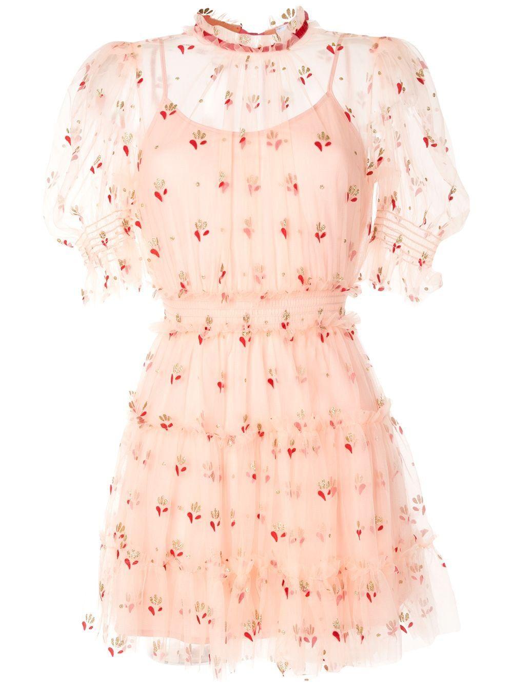 Alice Mccall Cowboy Tears Sheer Dress Farfetch Sheer Dress Casual Dress Outfits Fashion Dresses [ 1334 x 1000 Pixel ]