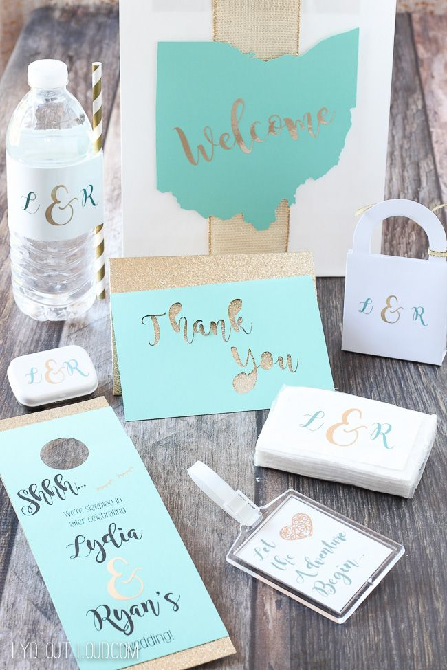 Diy Wedding Guest Gift Bags Essentials All Things Wedding