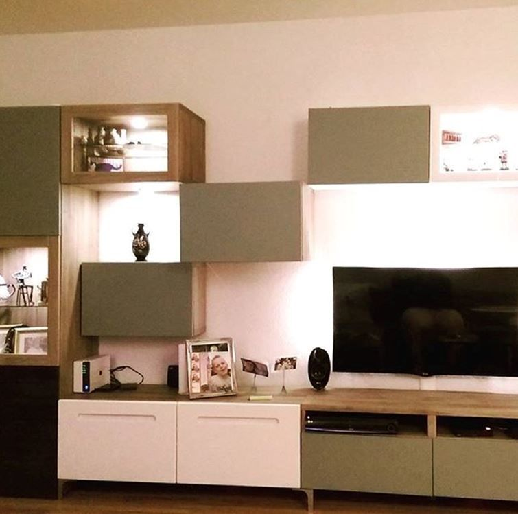 album 5 banc tv besta ikea r alisations clients. Black Bedroom Furniture Sets. Home Design Ideas