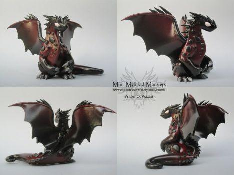 Deviantart More Like Mr Mckinley The Moose Dragon Made Of Polymer
