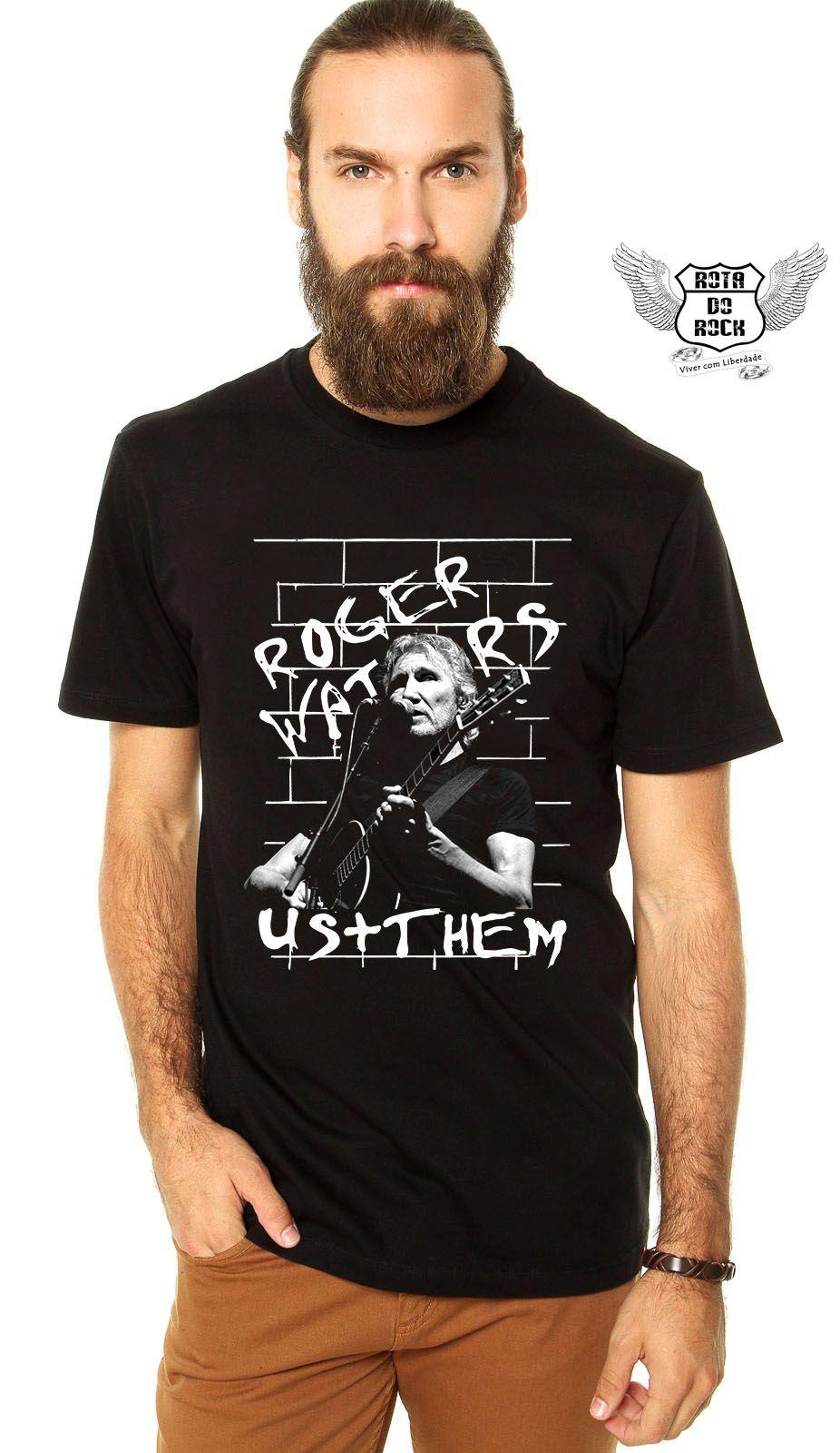 1b34e534e Roger Waters Us+Them é na www.rotadorock.com.br camiseta em algodão ...