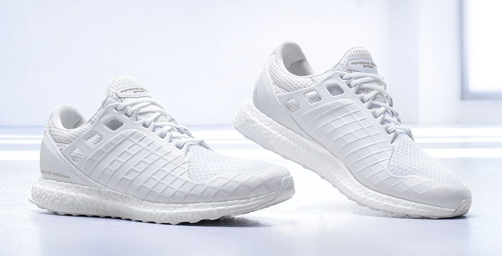pds ultra boost adidas x porsche design triple white sneakers