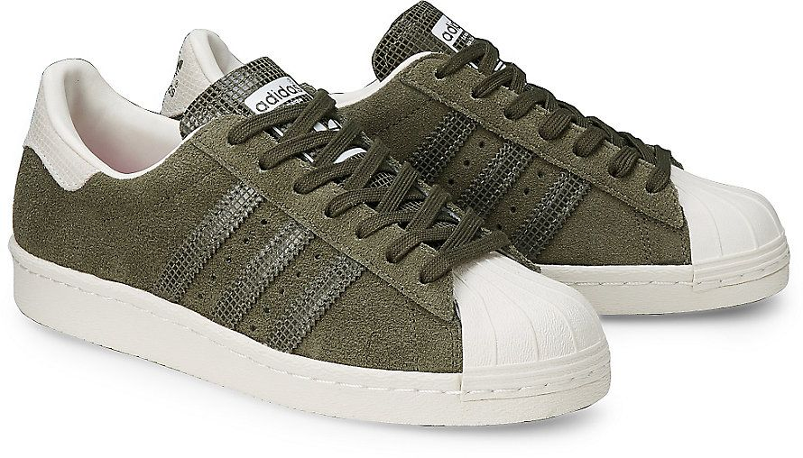 adidas superstar 80s khaki