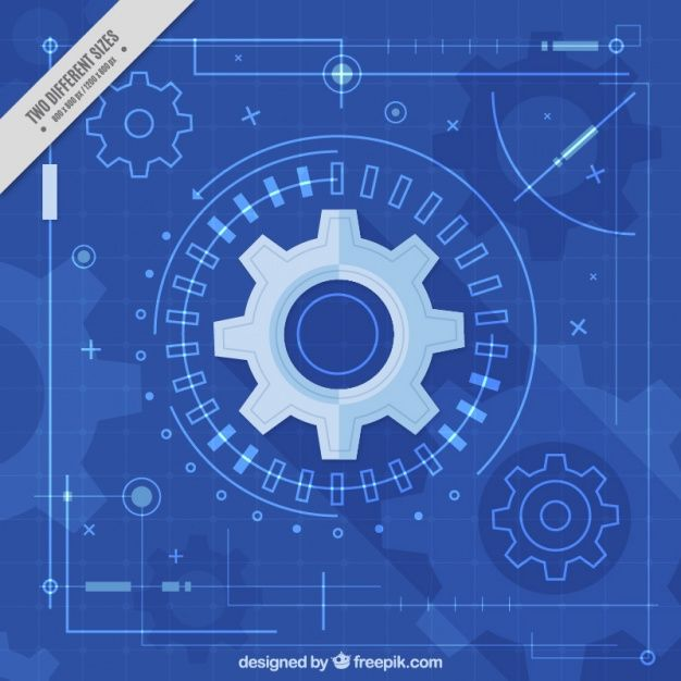 Download Monochromatic Background With Gears And Lines For Free Vector Free Monochromatic Free Design