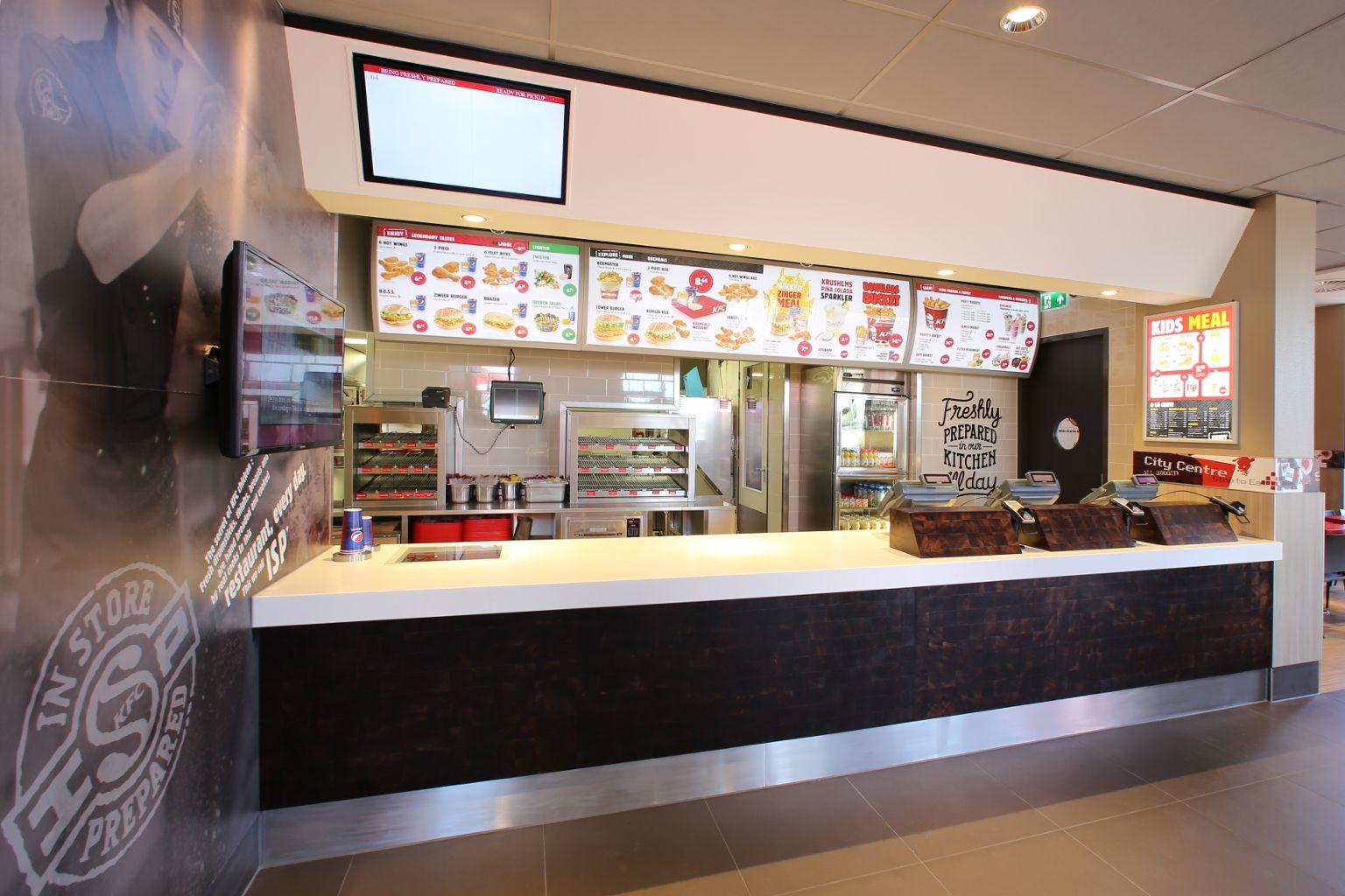Toonbanken | Van Keulen Interieurbouw | Restaurant | Pinterest