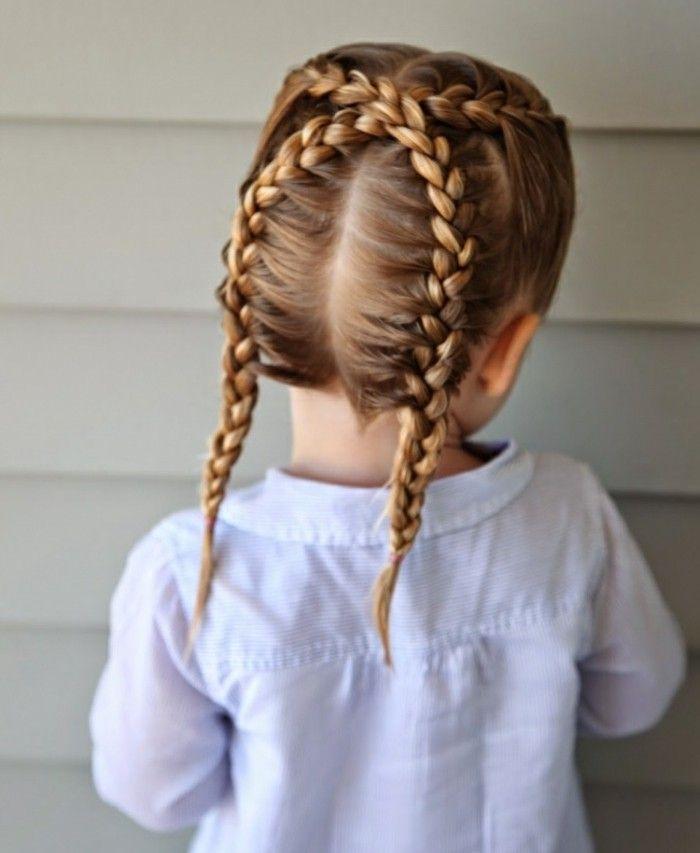 Beliebt Coiffure petite fille – Des idées pour votre petite princesse  YZ31