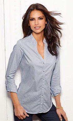 9c8286f2aab94 camisa cuello mao para mujer - Buscar con Google