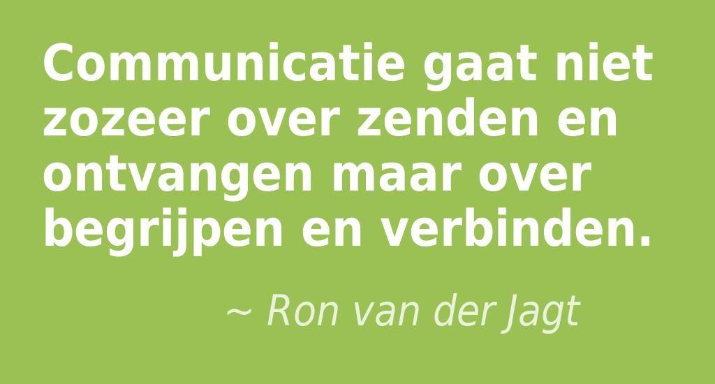 Citaten Over Begrip : Communicatie is een veel breder begrip dan alleen het