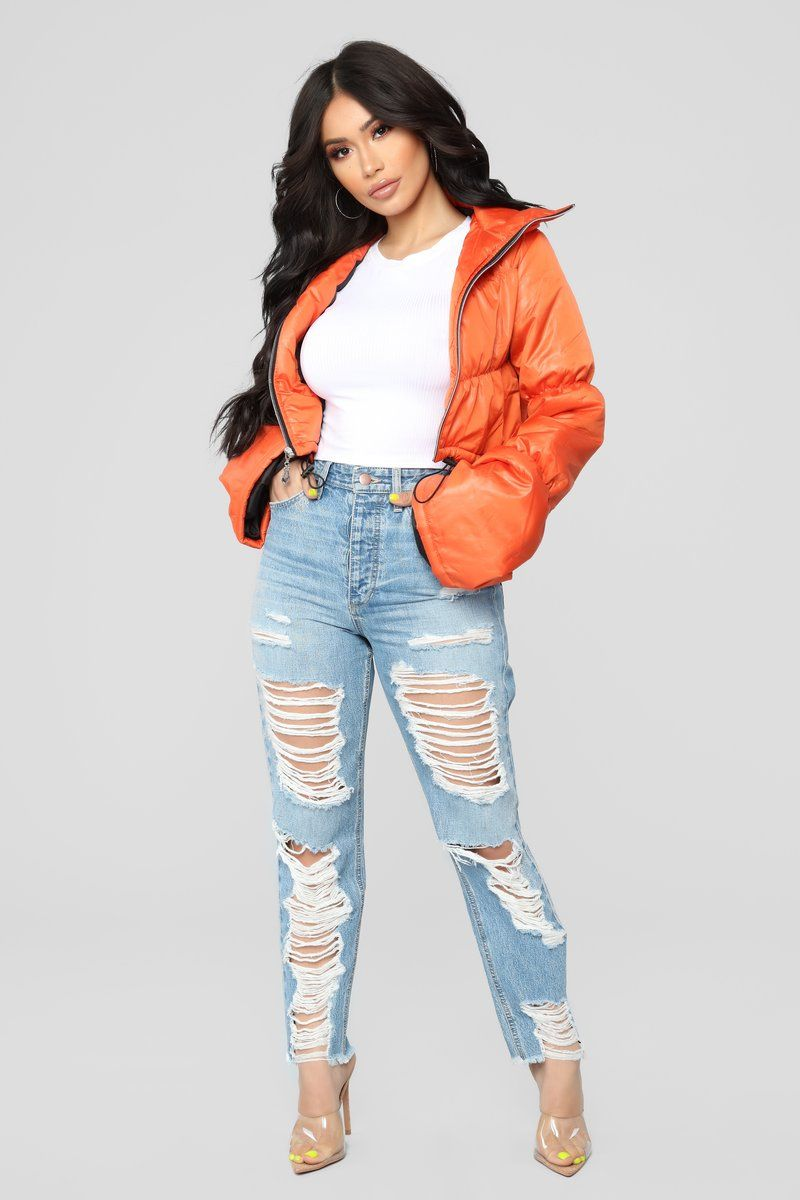 Sold Out Bell Sleeve Puffer Jacket Orange Fashion Nova Outfits Orange Puffer Jacket Outfit Puffer Jacket Outfit [ 1200 x 800 Pixel ]