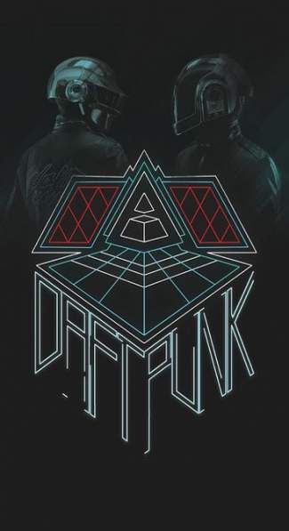 Music Electronic Poster Daft Punk 58+  Ideas #music