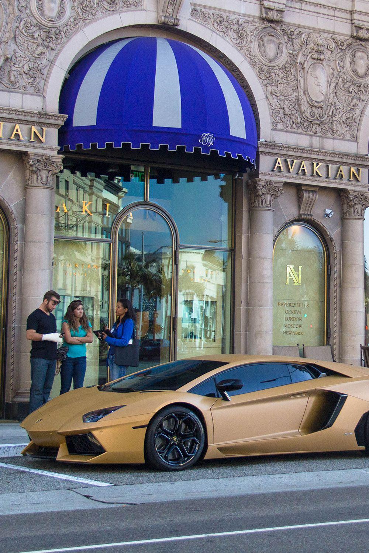 Godlinear Lukance Matte Gold Lamborghini