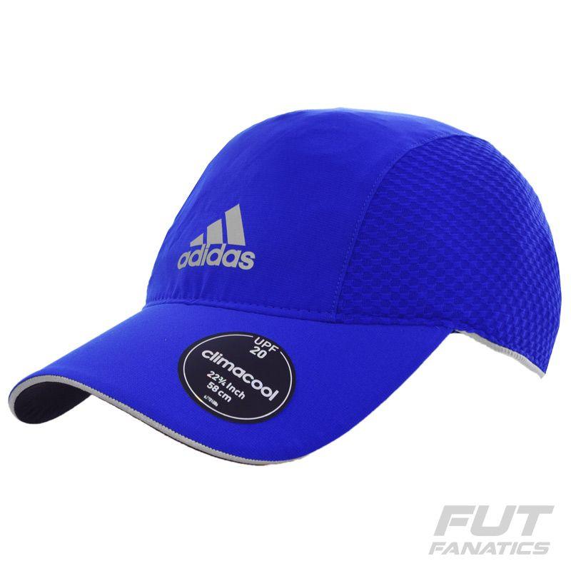 Boné Adidas Climacool Running Azul Somente na FutFanatics você compra agora  Boné Adidas Climacool Running Azul ca85718526f