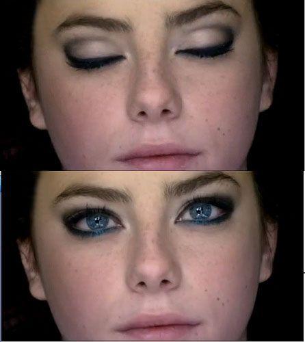 Effy's make-up