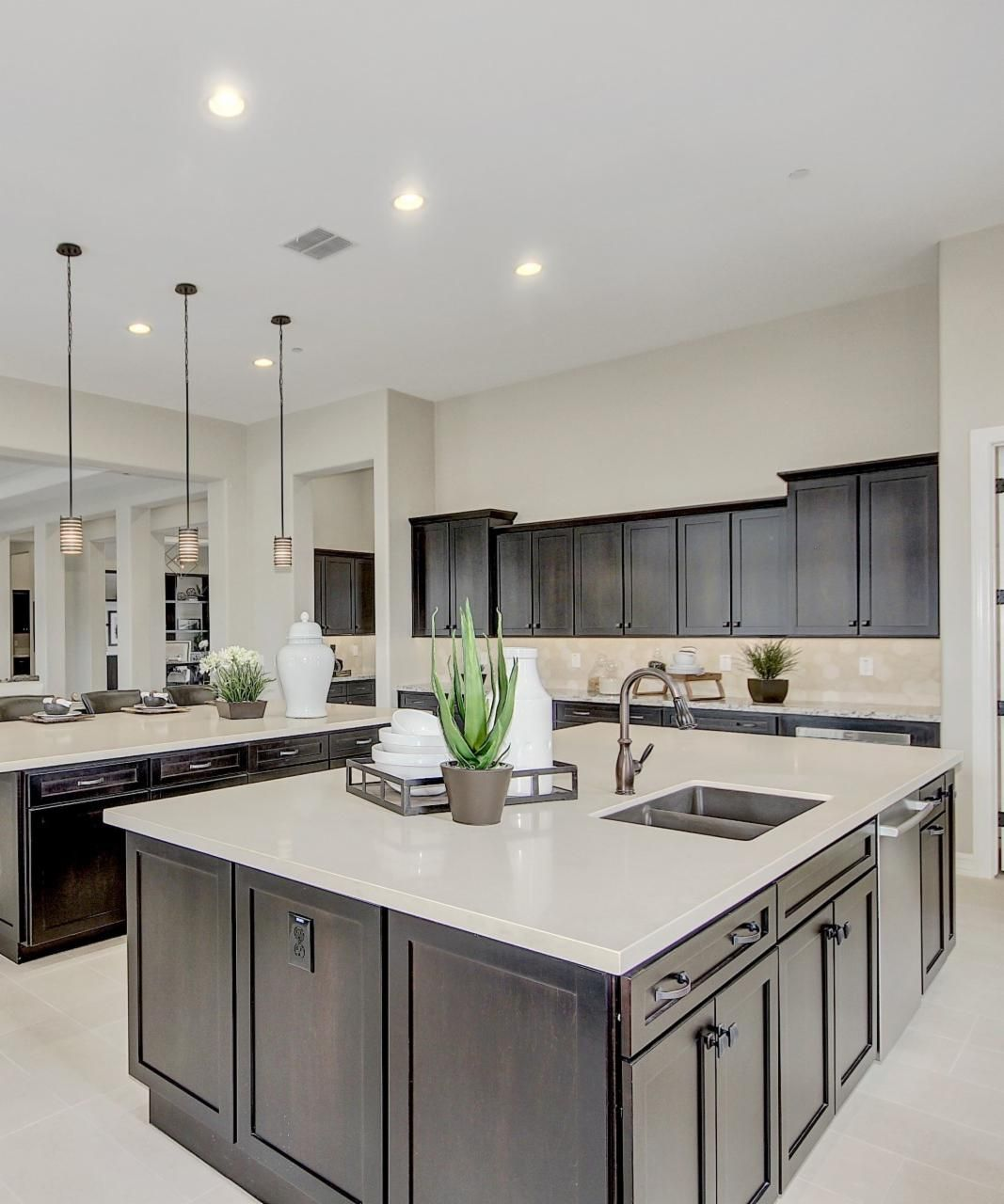 In a kitchen this big, you'll never run out of room to