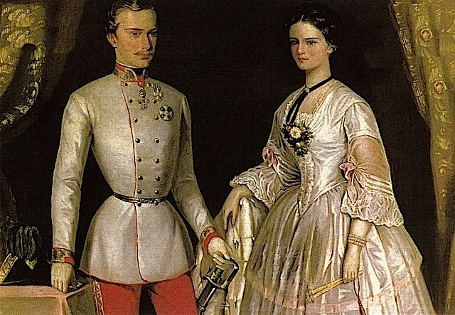 Pin Su Kaiserin Elisabeth Sisi Von Osterreich
