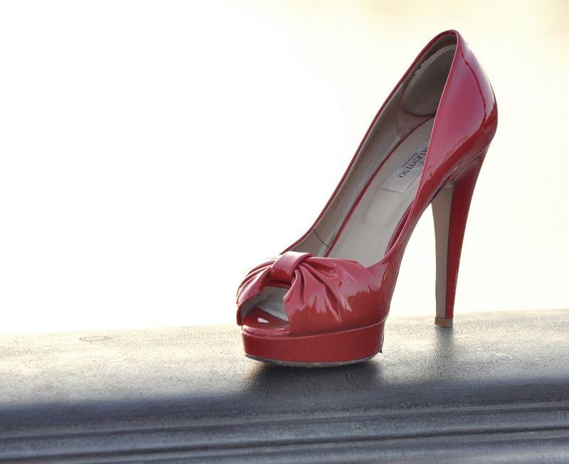 Classic Red Heels - Valentino