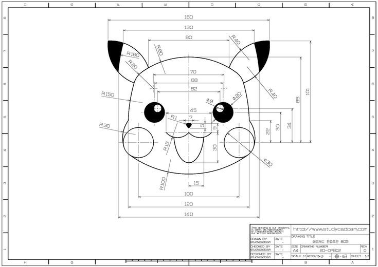 Autocad Mechanical 2d Drawing Exercises