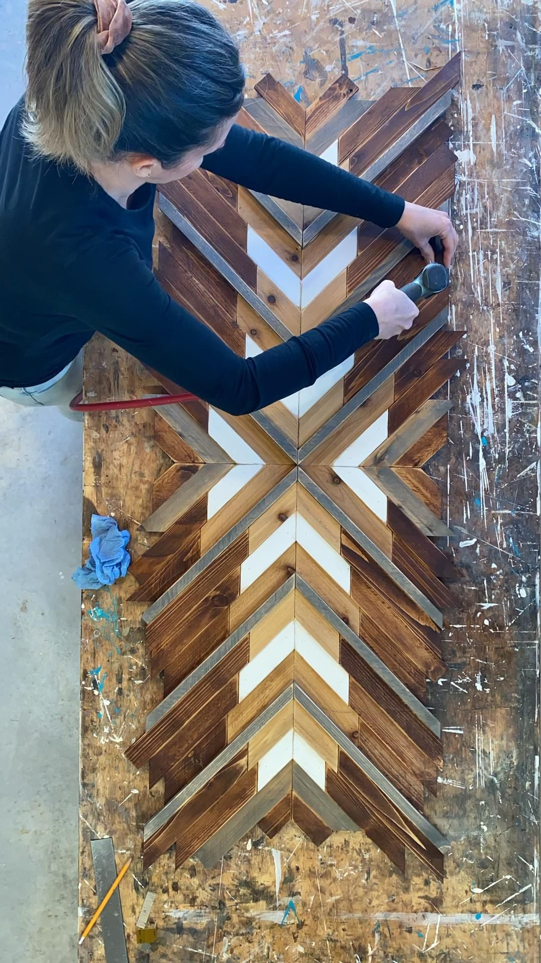 Photo of Behind the Scenes – Wood Wall Art