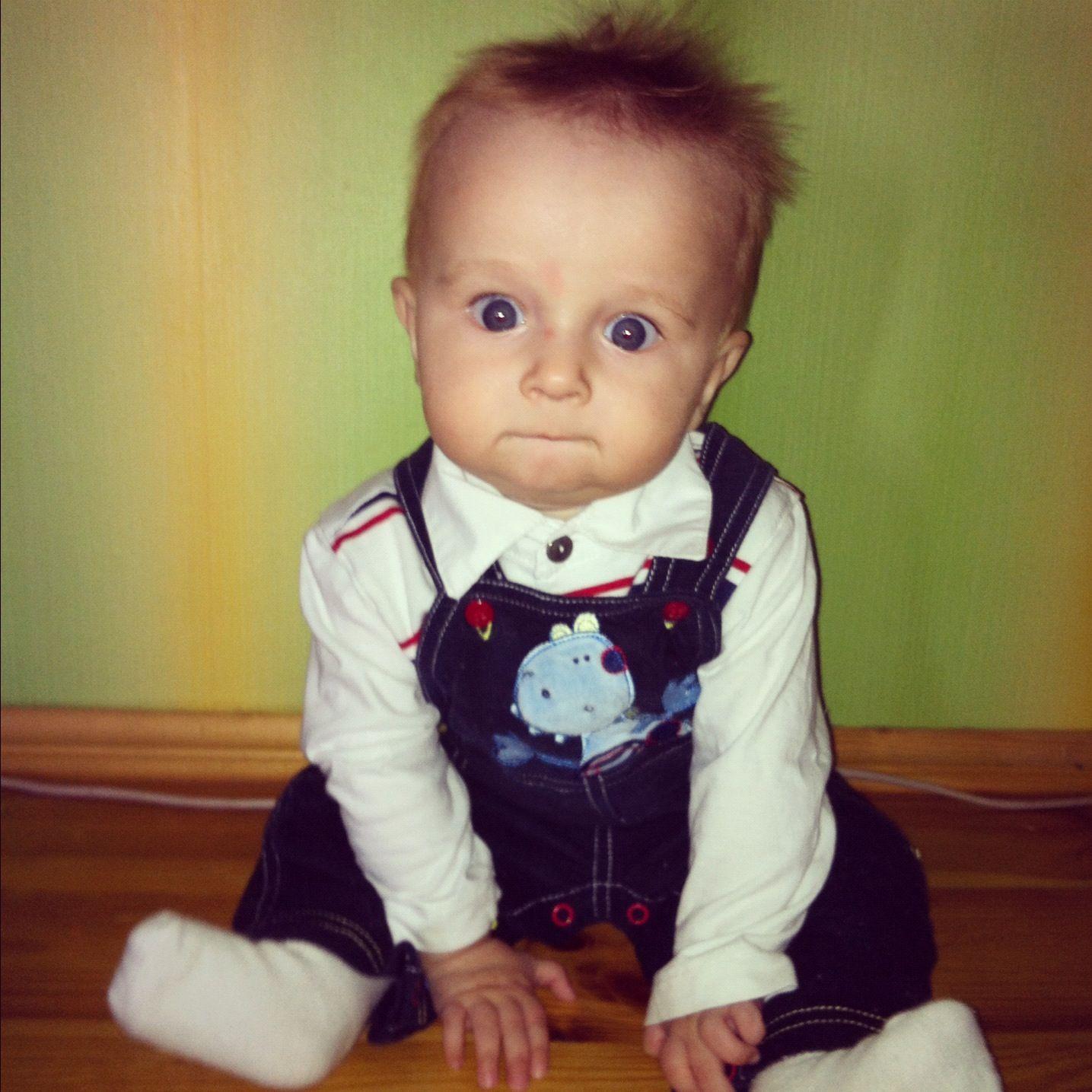 The cutest boy!