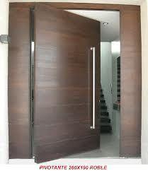 resultado de imagen para puerta pivotante exterior madera - Puerta Pivotante