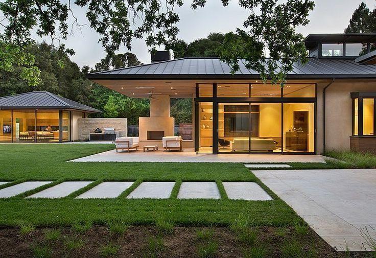 183 casas campestres modernas dise os interiores y for Fachadas de casas campestres de un piso