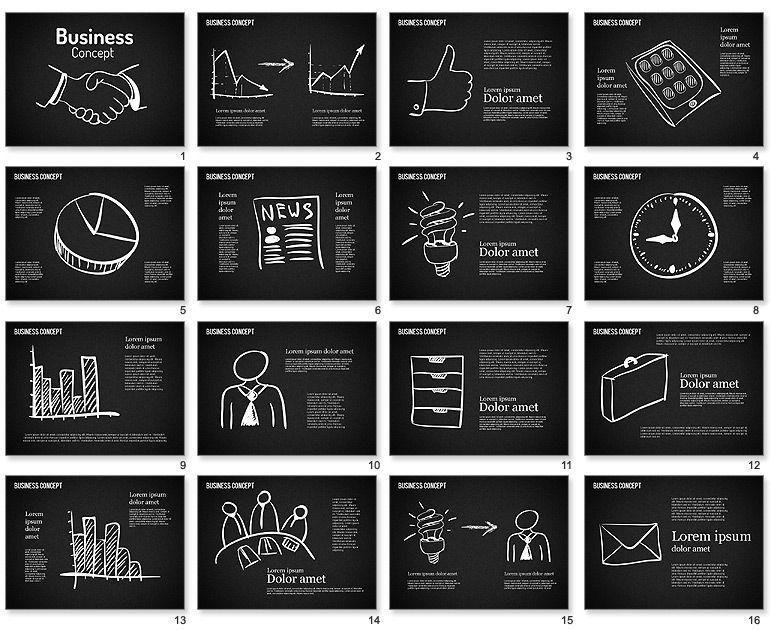 Business shapes on chalkboard for powerpoint info pinterest business shapes on chalkboard for powerpoint toneelgroepblik Choice Image