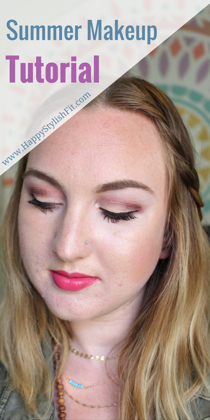 Summer makeup tutorial vegan makeup products summer makeup check out how to do this cute makeup look with this summer makeup tutorial using primarily baditri Image collections