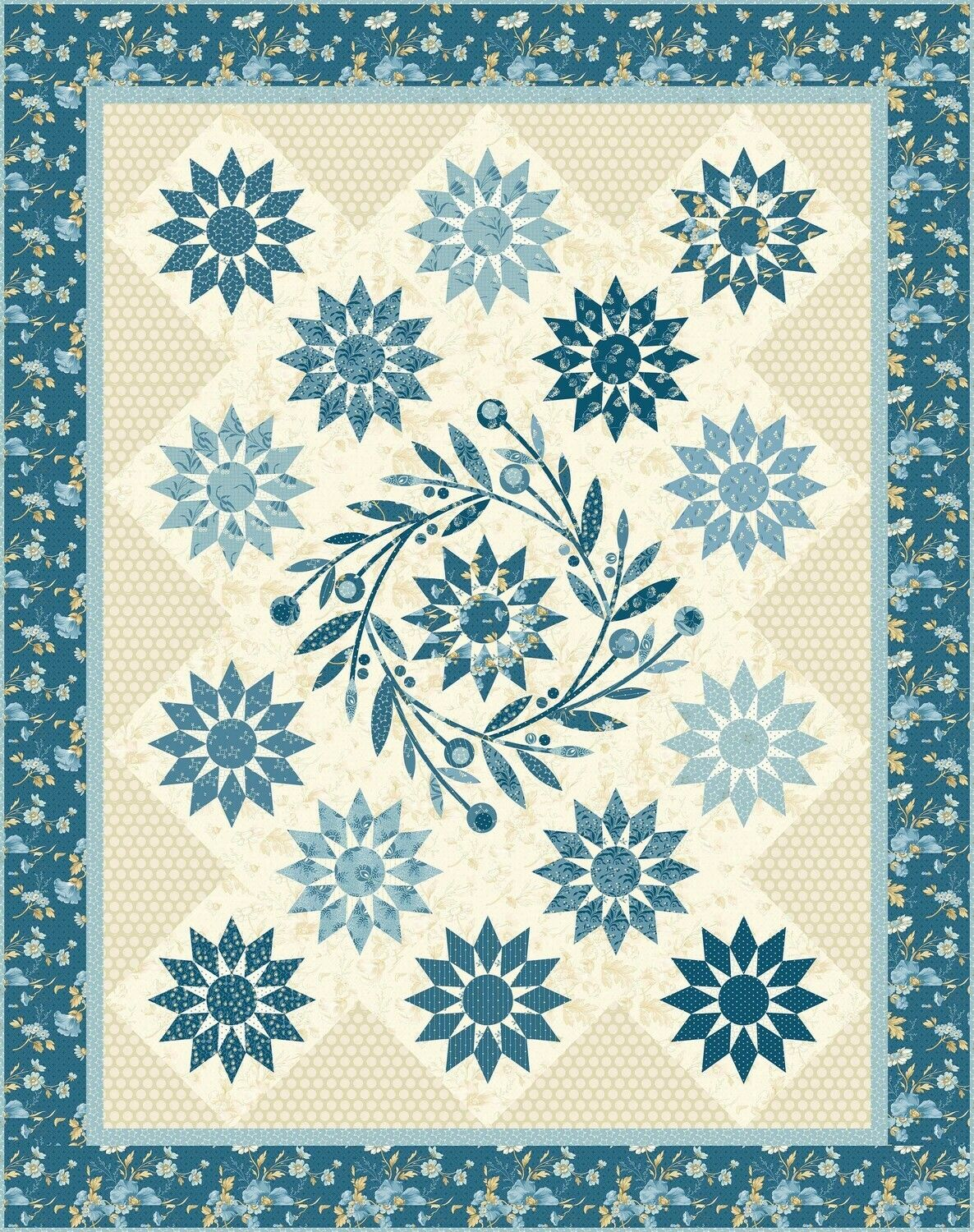Blooming Star In 2020 Basket Quilt Star Quilt Patterns Laundry