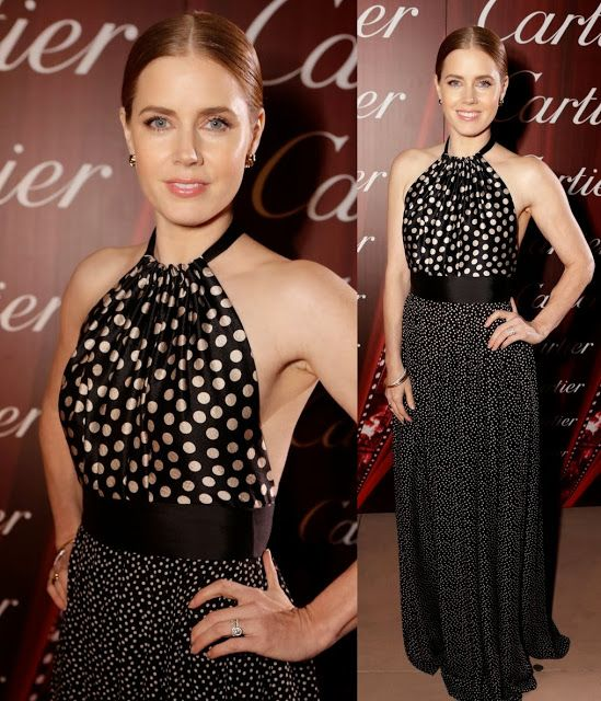 ScarletStiletto: Amy Adams in Juan Carlos Obando - 2014 Palm Springs International Film Festival