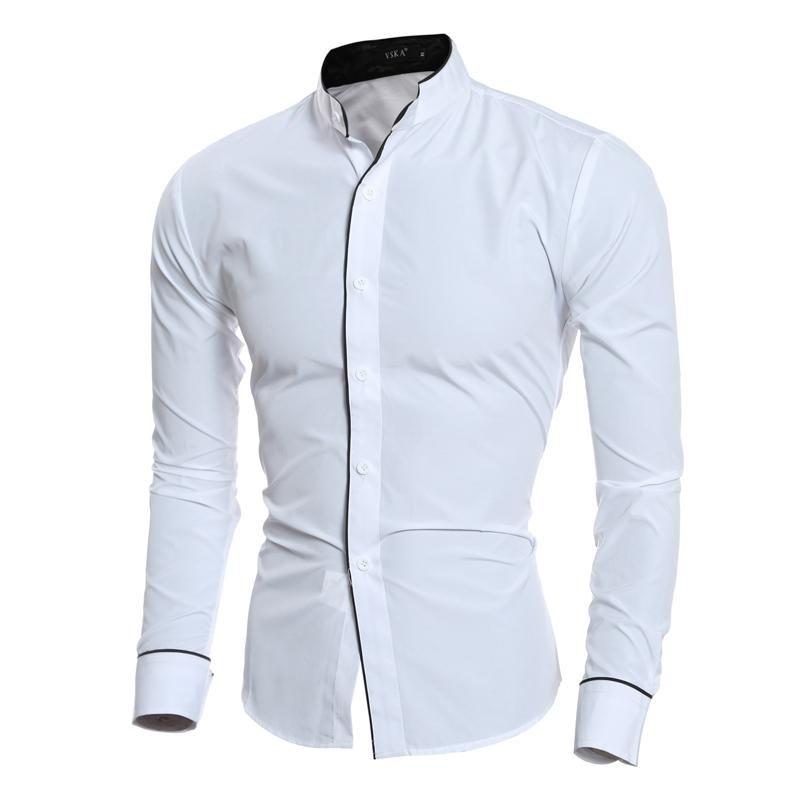 43+ Collarless dress shirt ideas