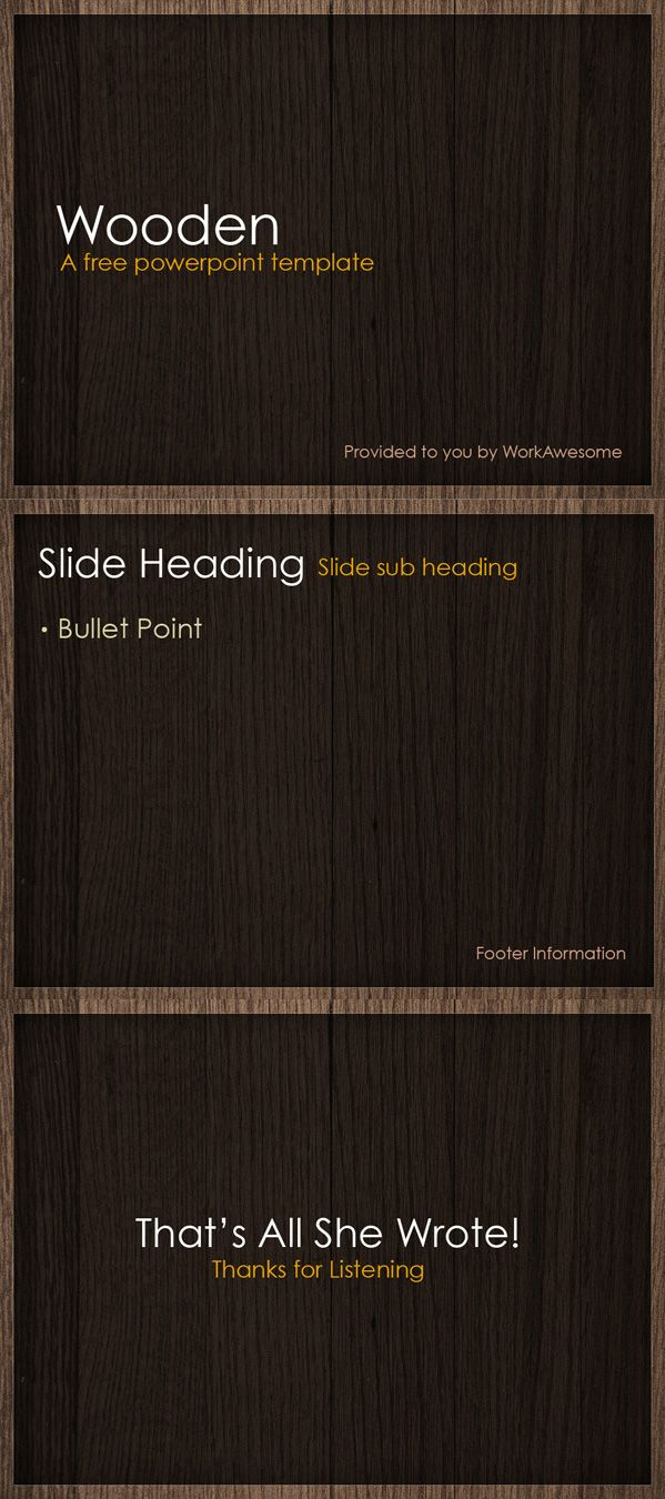 Free powerpoint template wooden free free best freebies board free powerpoint template wooden toneelgroepblik Gallery