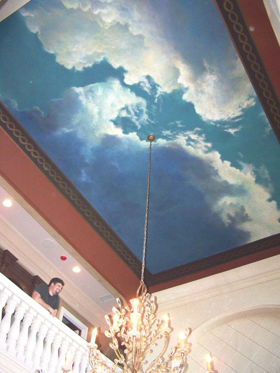 Image Detail For Clouds Ceiling Murals Pinterest
