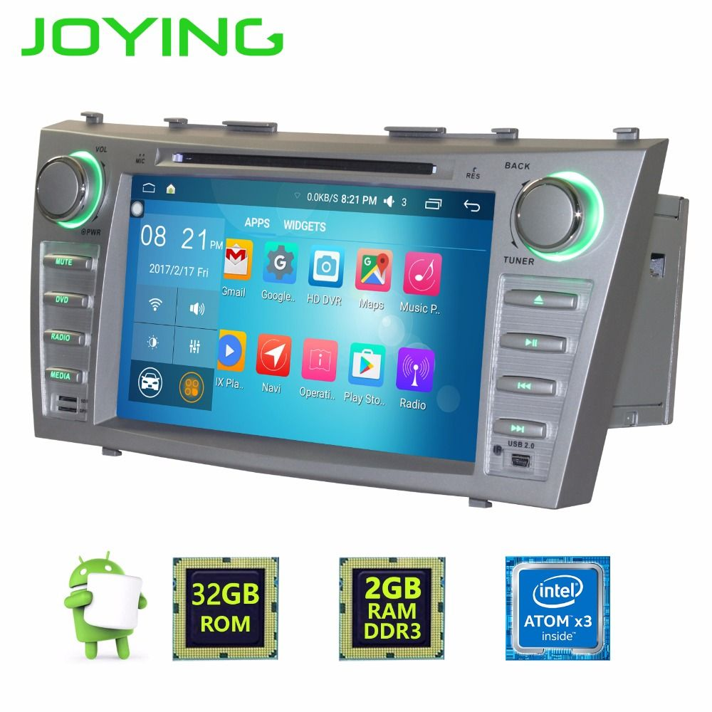 Joying Car DVD GPS For Toyota Camry Android5.1 Double 2