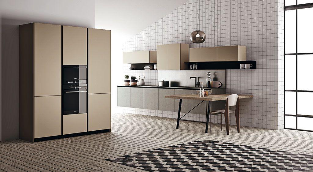 Fjord è una cucina componibile moderna che lascia ampia libertà d ...