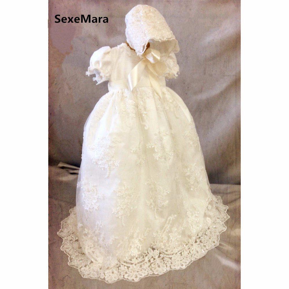 bezaubernde baby mädchen baby junge taufe kleid 0-24month