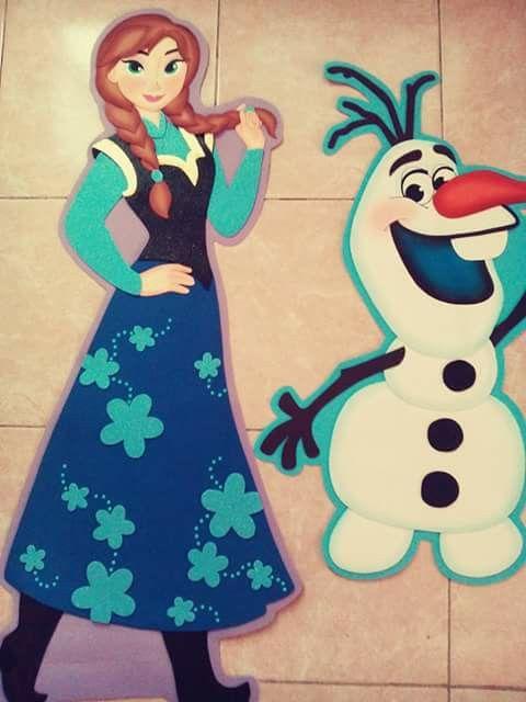 Frozen Foami Frozen Frozen Characters Y Baby Shower