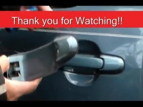 How To Install Door Handles On Toyota Sienna 2001 Side Sliding Door Also For 98 2003 041a472d704a39e8c40704e Door Installation Door Handles Barn Doors Sliding