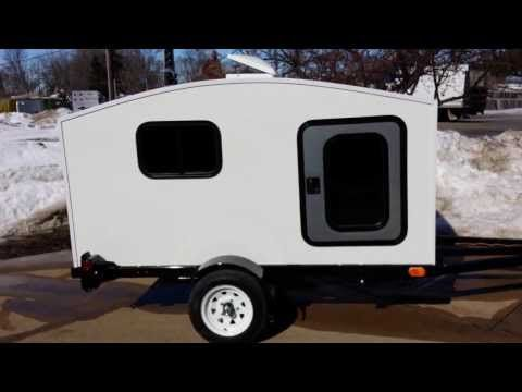 Check Out The Camper Trailer Mini Camper Toy Hauler Wonadaygo 4 X