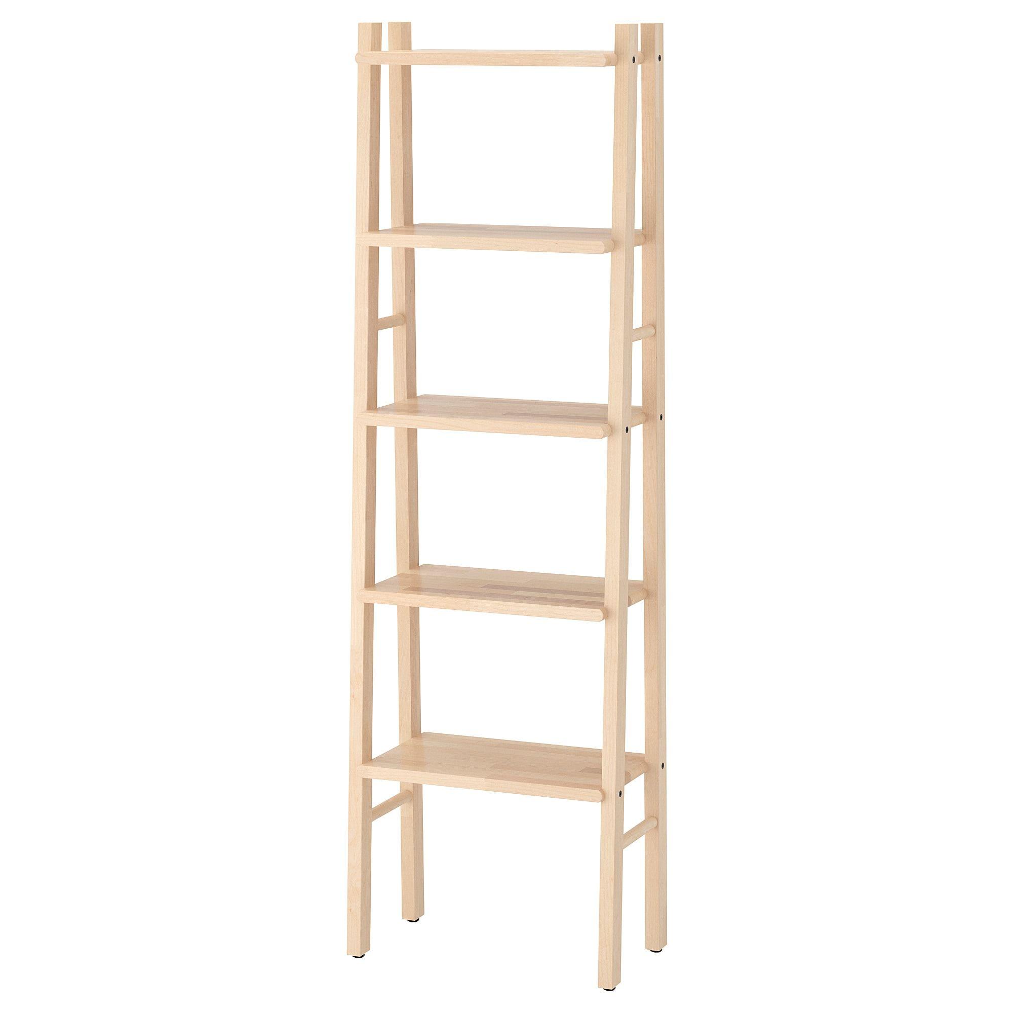 Vilto Shelf Unit Birch Ikea