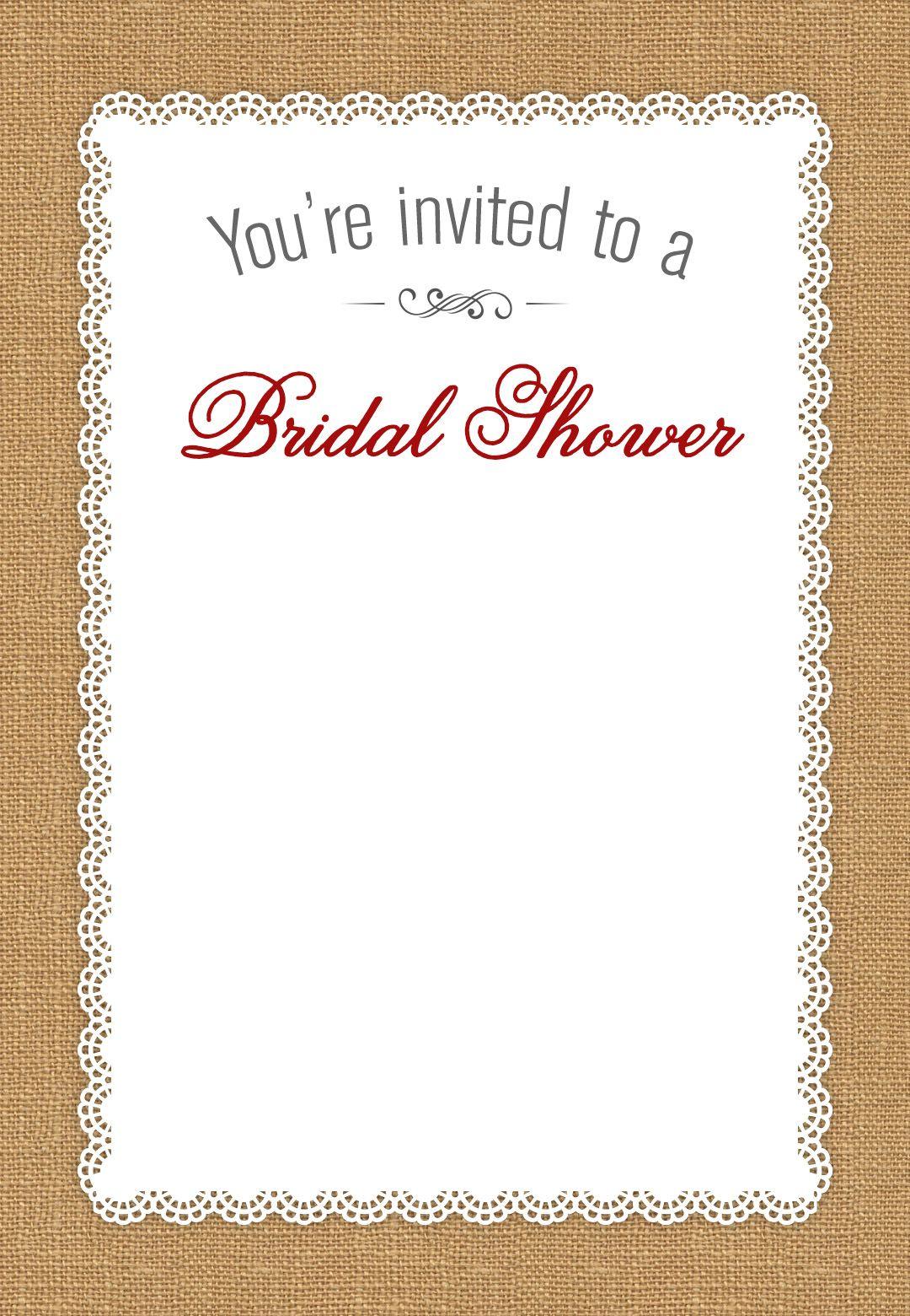 bridal shower honoring free printable bridal shower invitation template greetings island