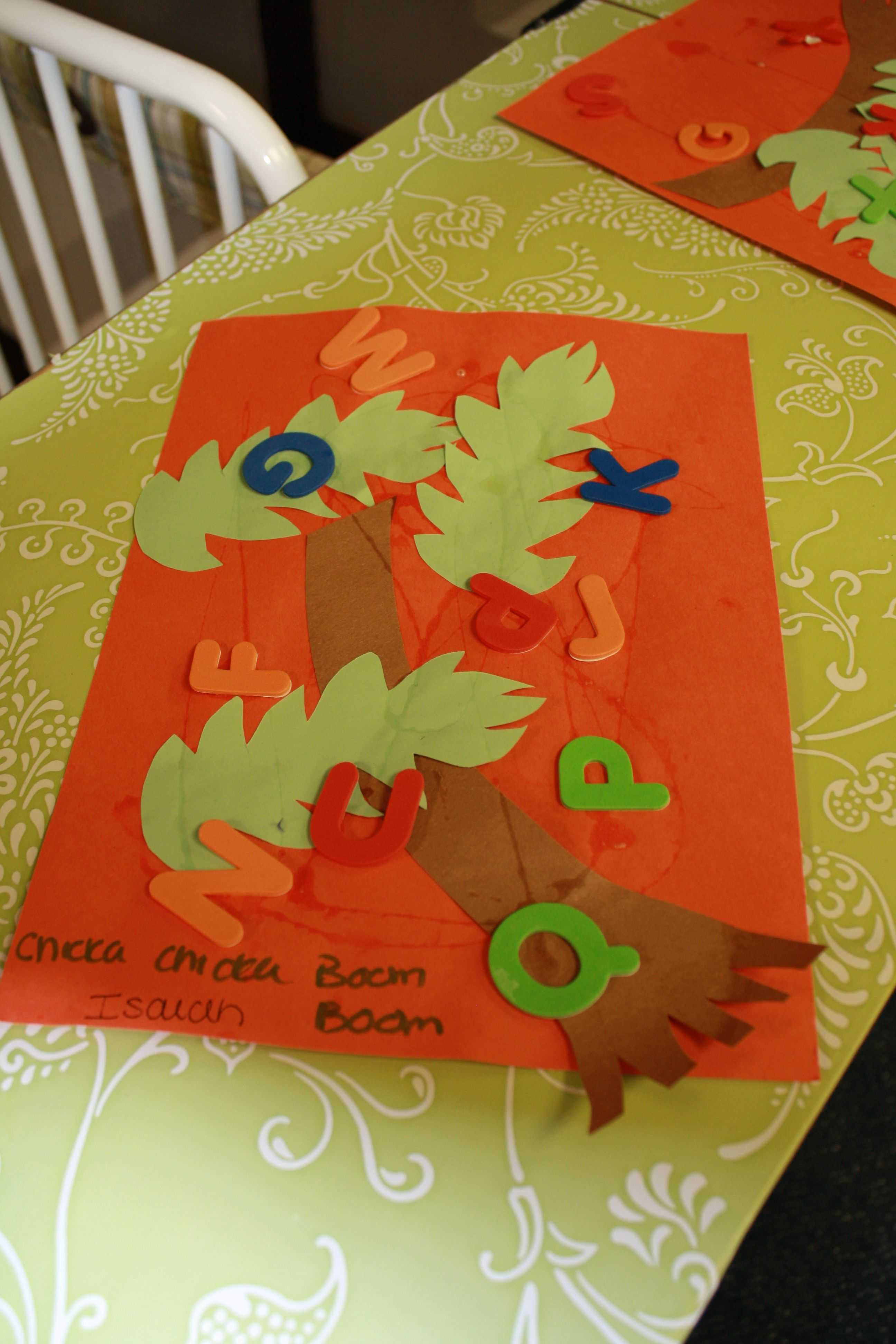 Chicka Chicka Boom Boom Project With Infant 3
