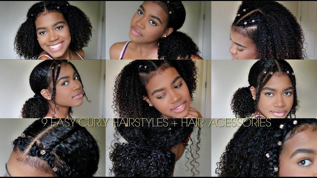 34 Cute Cute Curly Hairstyles For Long Hair Pictures Curly Hair Styles Easy Medium Hair Styles Curly Girl Hairstyles