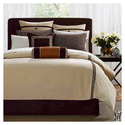 Hampton Hill Ivory Coast Queen Comforter Set Comforter