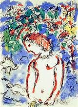 1970 Marc Chagall The Magician